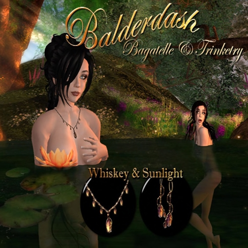 Whiskey and Sunllight by Saiyge Lotus; ad design and photos by Saiyge Lotus
