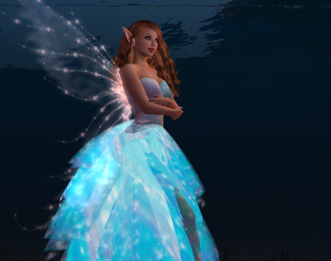 Star Butterfly gown from Pas De Deux by designer Misteria Loon