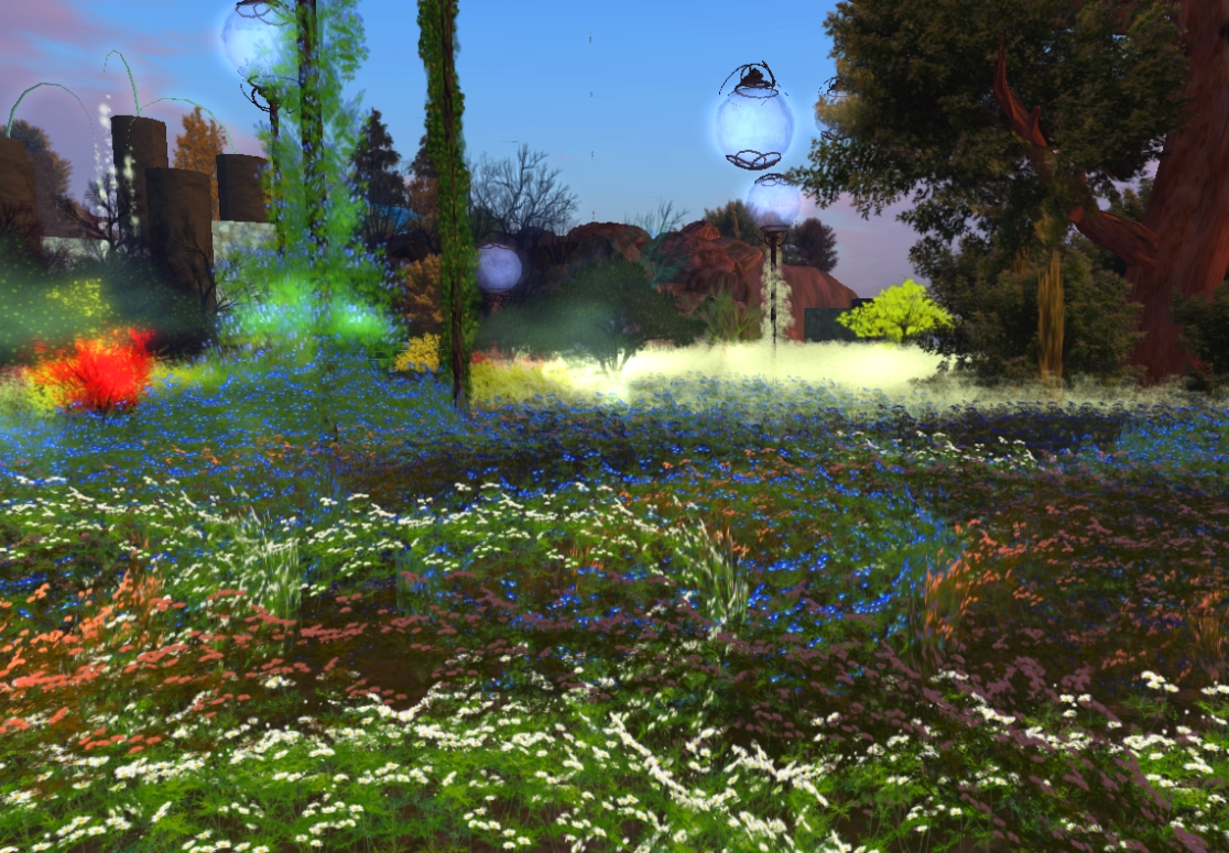 Feast Forest, a lovely garden sim