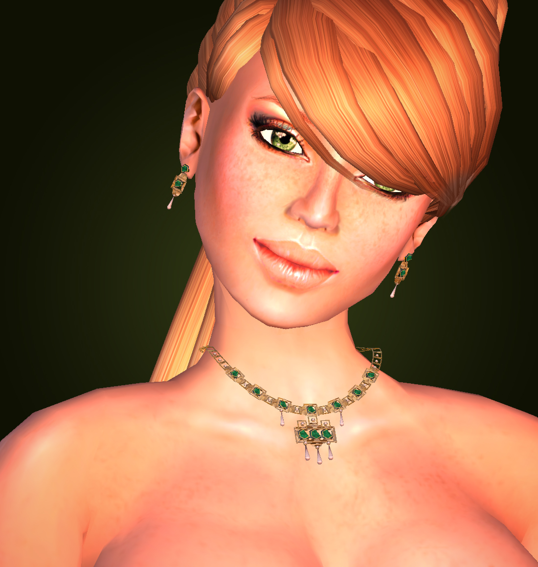 """""""Emerald"""" set from Eclectica Jewellery by Tiffy Vella"""