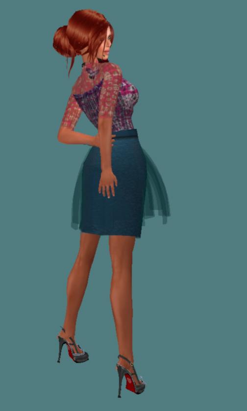 Trae in Aqua from Mooged Fashion in Shengri La