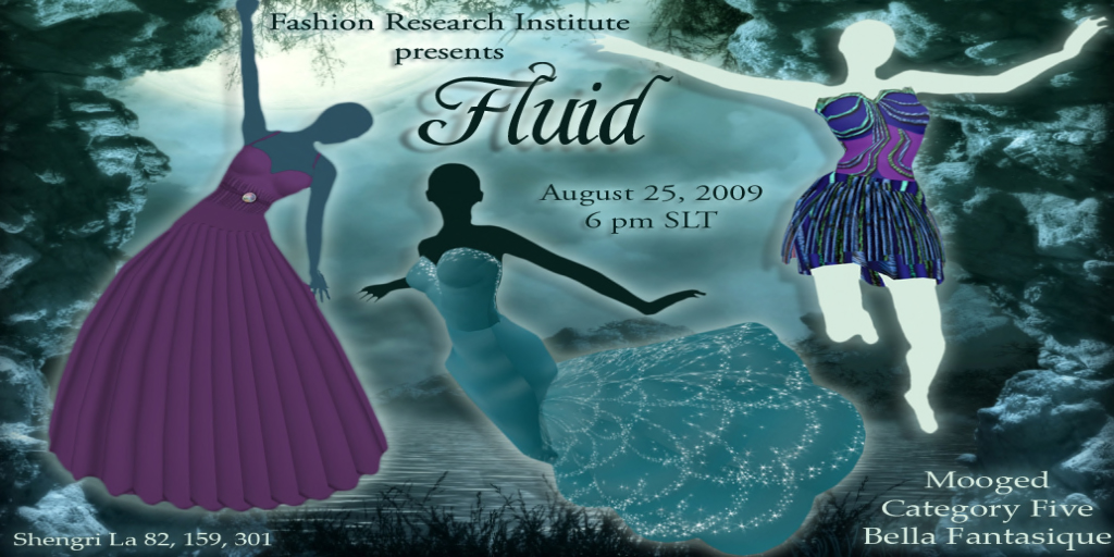"""Fluid"" fashion show presented by the Fashion Research Institute"