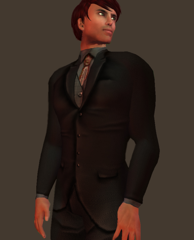 Corporate Menswear by Shenlei Flasheart