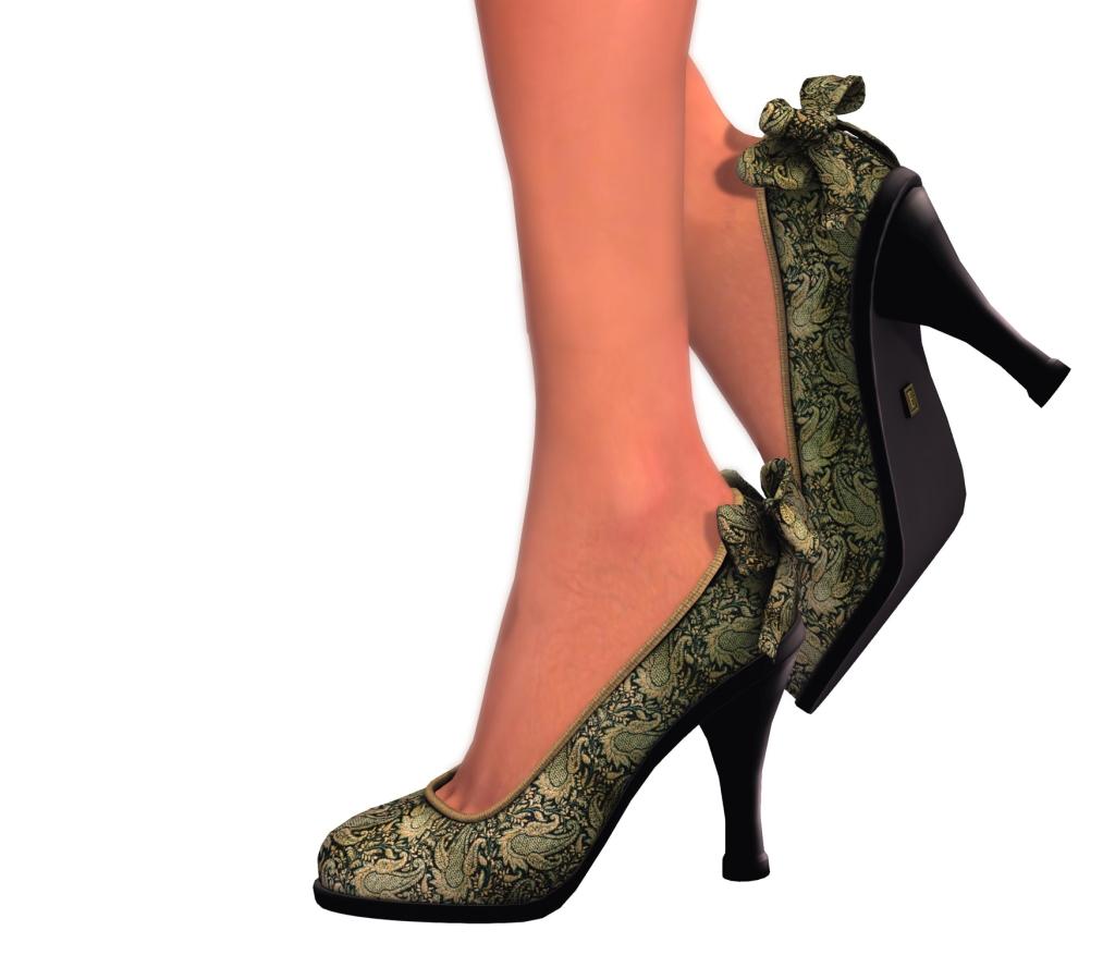 electica shoes green