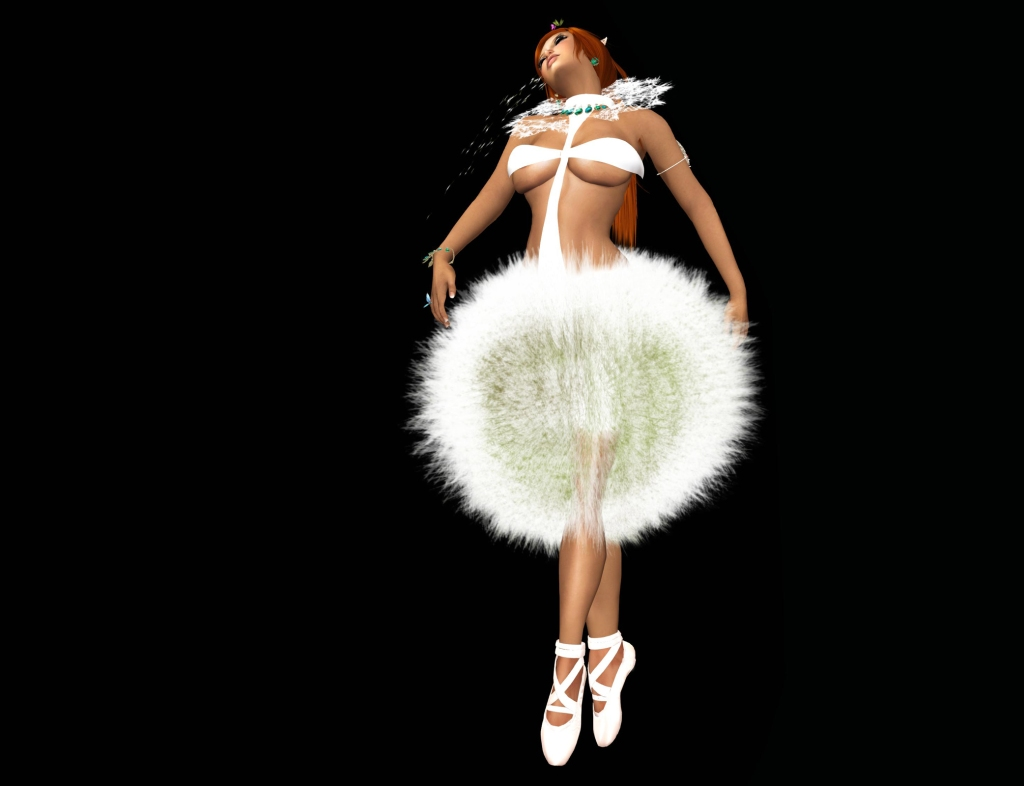 POE dandelion dress