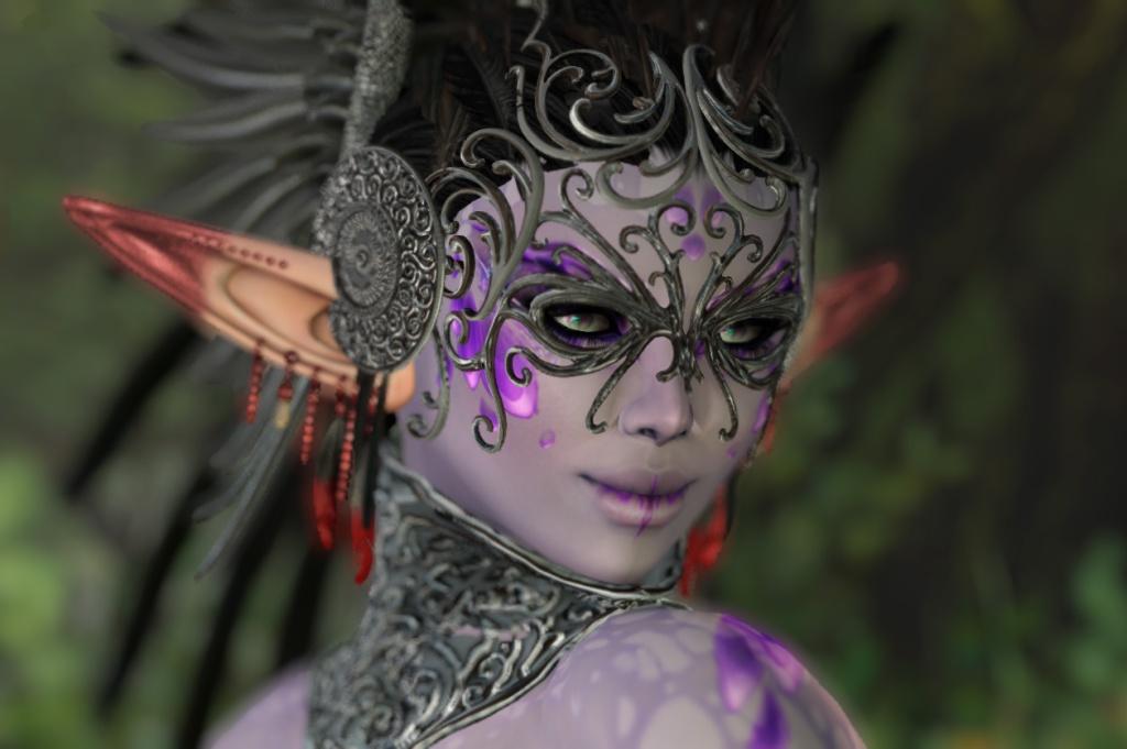 Unzipped-Fantasy-Headdress-portrait