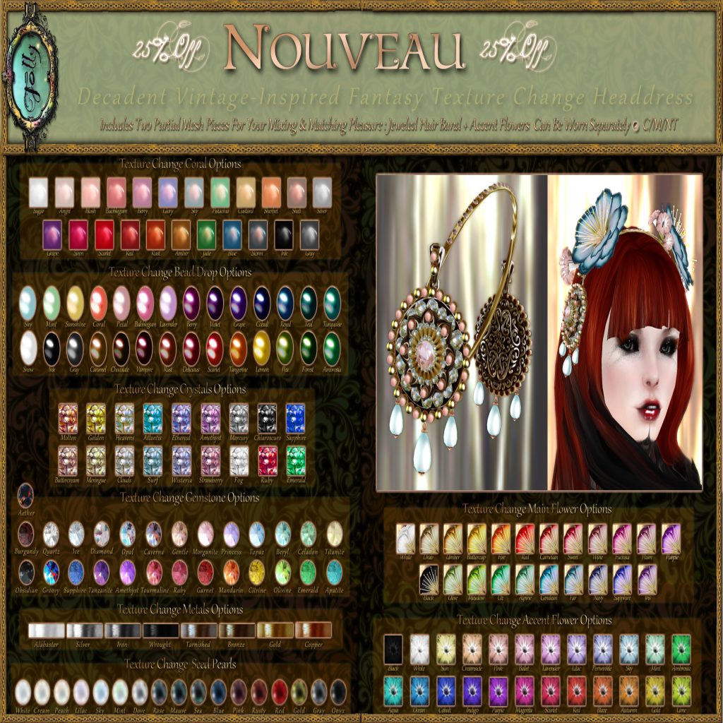 Folly_NouveauHeaddressColorChart